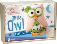 Sew Sweet: Olivia Owl Wooden Box