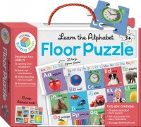 Learn the Alphabet Building Blocks Floor Puzzles