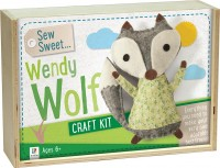 Sew Sweet: Wendy Wolf Wooden Box