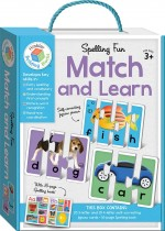 Spelling Fun Building Blocks Match and Learn Cards (2015 Ed)
