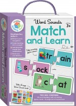 Word Sounds Building Blocks Match and Learn Cards
