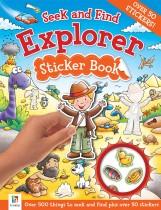 Seek and Find: Explorer Sticker Book