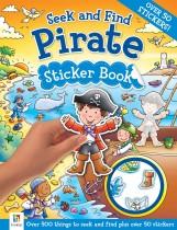 Seek and Find: Pirate Sticker Book
