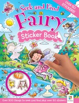 Seek and Find: Fairy Sticker Book