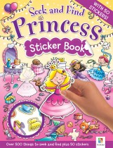 Seek and Find: Princess Sticker Book