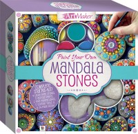 Paint Your Own Mandala Stones Kit