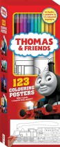 Thomas and Friends 123 Colouring Posters