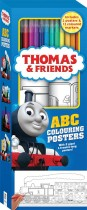 Thomas and Friends ABC Colouring Posters