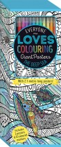 Colouring Poster Box: The Deep Sea