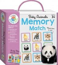 Baby Animals Building Blocks Memory Match