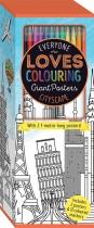 Colouring Poster Box: Cityscape