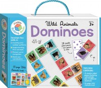 Wild Animals Building Blocks Dominoes