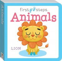 First Steps Large Board Book: Animals