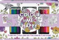 Colour Me Happy Colouring 30-Pencil Set