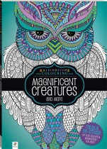 Kaleidoscope Colouring: Magnificent Creatures