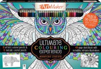 Art Maker Magnificent Creatures Colouring 30-Pencil Set