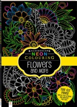 Neon Colouring: Flowers and More