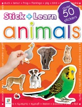 Stick and Learn Animals