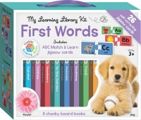 Building Blocks My Learning Library Kit First Words