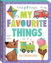 First Steps My Favourite Things Board Book