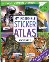 Flying Start My Incredible Sticker Atlas