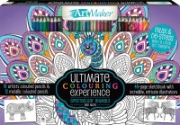 Art Maker Spectacular Animals Colouring 30-Pencil Set