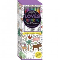Colouring Poster Box: World of Animals