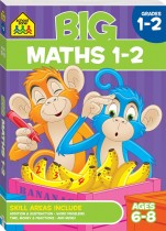 School Zone Big Maths 1-2 Workbook