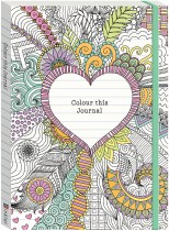 Colour This Journal: Heart