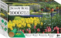 Springtime Tulips 1000-Piece Jigsaw with Mat