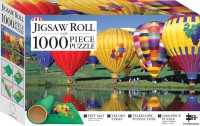Balloon Festival 1000-piece Jigsaw with Mat