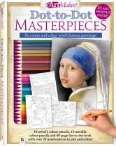 Art Maker Dot-to-Dot Masterpieces Kit