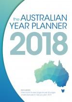Australian Year Planner 2018