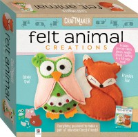 CraftMaker Felt Animals Creations