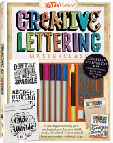 Art Maker Creative Lettering Masterclass Kit