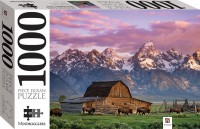 Moultan Barn, Wyoming, USA 1000 Piece Jigsaw