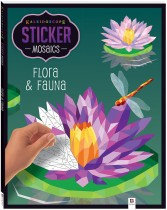 Kaleidoscope Sticker Mosaics: Flora and Fauna