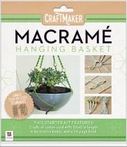 Craftmaker Macrame: Hanging Basket