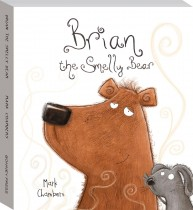 Brian the Smelly Bear Board Book