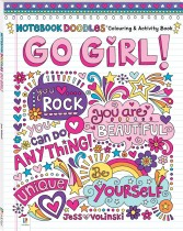 Notebook Doodles: Go Girl