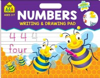 School Zone Writing and Drawing Pad: Numbers