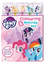My Little Pony 5-Pencil and Eraser Set