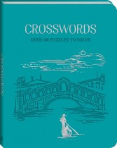 Deluxe Faux Leather Puzzles: Crossword