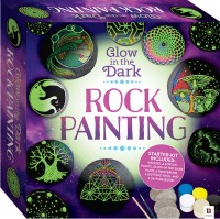 Glow-in-the-Dark Rock Painting Box Set