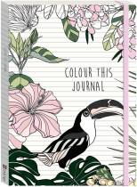 Colour This Journal: Tropicana