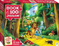 Book with 100-piece jigsaw: Wizard of Oz