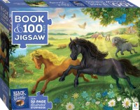 Book with 100-piece jigsaw: Black Beauty