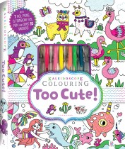 Kaleidoscope Colouring Kit: Too Cute