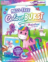 Inkredibles Colour Burst Colouring: Unicorns and Friends