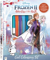 Kaleidoscope Colouring Frozen 2 Adventure to the North